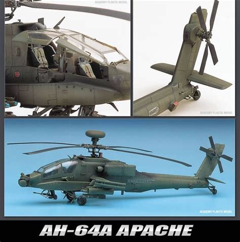 Buy Ah-64 Apache Attack Helicopter Us Army Sky Pilot 1