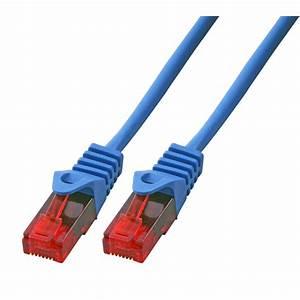 0 5m Cat 5 Gigabit Patchkabel Netzwerkkabel Blau Lan Dsl