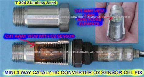 mini catalytic converter warning light advice re cats on 3 8 jk