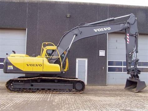 volvo ec210 lc ec210lc excavator service repair manual instant do
