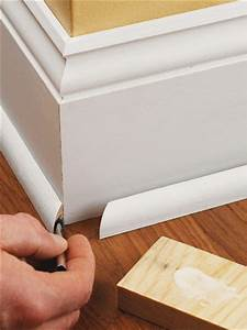 Base Shoe Molding - How to Install Baseboard Molding