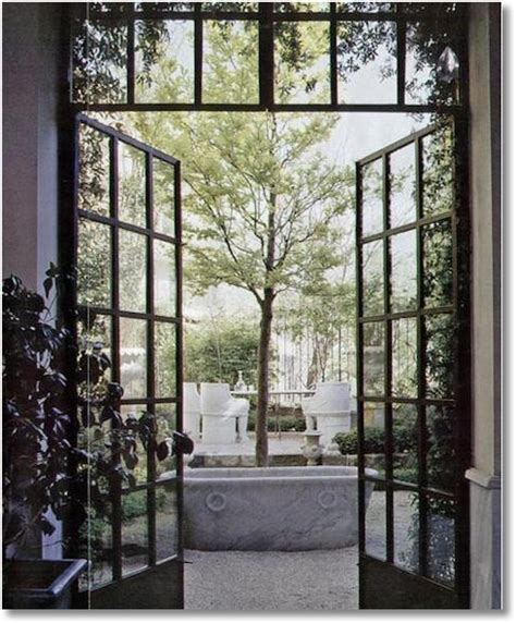 vintage or custom amazing steel doors
