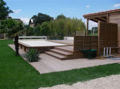 amenagement terrasse exterieur am 233 nagement exterieur avignon terrasses bois l isle sur la