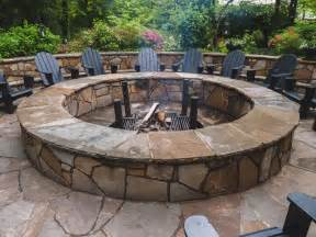 Large Stone Fire Pit