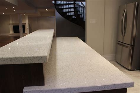 Pictures Of Level One Quartz Countertops  Two Level