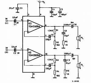 Tda2009a 10  10w Stereo Amplifier