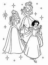 Princess Coloring Pages Disney Printable sketch template