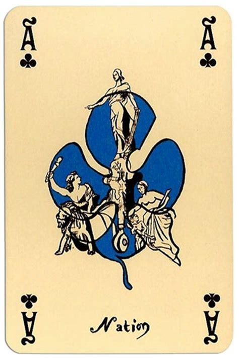 ace  clubs correspondances deck designed  callazzo