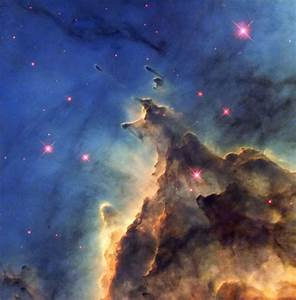 Fiery young stars wreak havoc in stellar nursery | ESA/Hubble