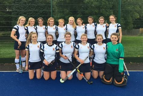 shrewsbury school  girls hockey team win county