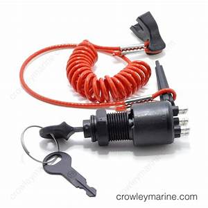 Ignition Switch With Lanyard  Evinrude  Omc