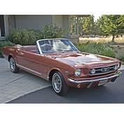1966 Ford Mustang GT Convertible Emberglow HiPo V8