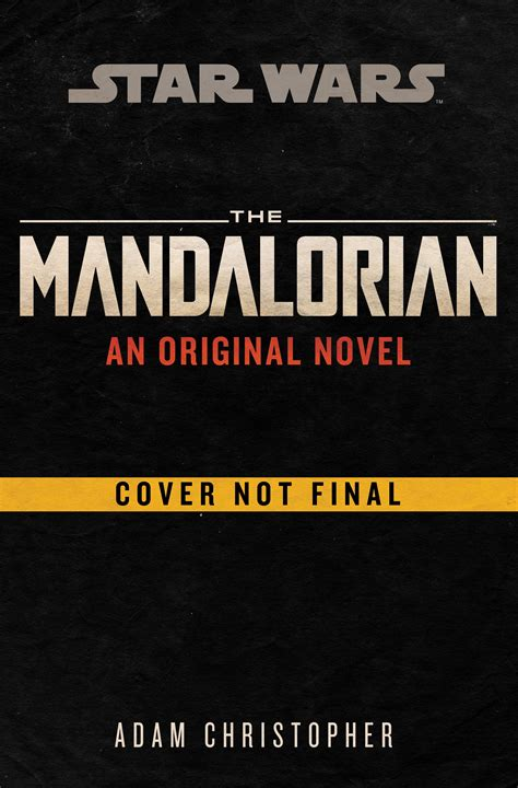 Books - A/V - The Mandalorian: Original Novel by Adam ...