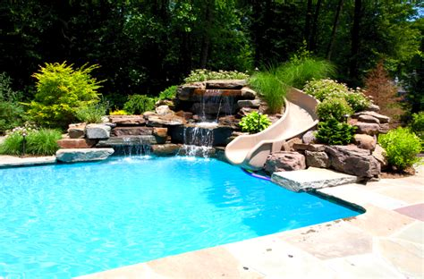 Custom Pool Slides For The Perfect