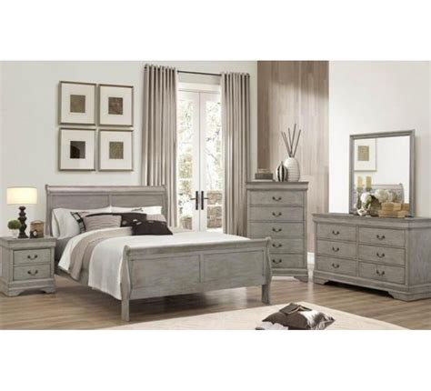 gray bedroom set lafayette gray size bedroom set