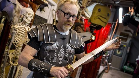 adam savages gladiator armor youtube