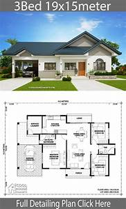 Three, Bedroom, House, Plan, And, Design, 2021
