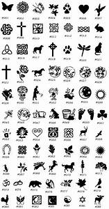 Celtic Symbols And Meanings Chart Ideas: Celtic Symbols ...