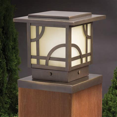 kichler oz larkin estate  post light