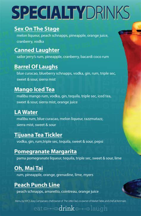 sle menu template sle drink menu template teacheng us
