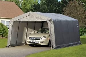 Abri De Jardin Demontable : garage d montable voiture shelterlogic promo ~ Nature-et-papiers.com Idées de Décoration