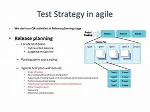 agile qa test plan template templates resume examples With agile test strategy template