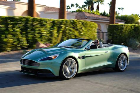 aston martin vanquish volante review  car