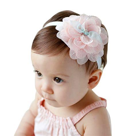 Lovely Toddler Baby Girls Flower Headband Hair Bow Band