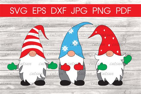 Gnome sublimation clipart design easy to use for many christmas craft. Christmas Gnomes svg | Gnome svg | Christmas svg (391736 ...
