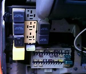 1992 Dodge Caravan 3 0 Hidden Fuse Panel Above Main Fuse