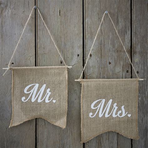 vintage hessian    flag signs  ginger ray