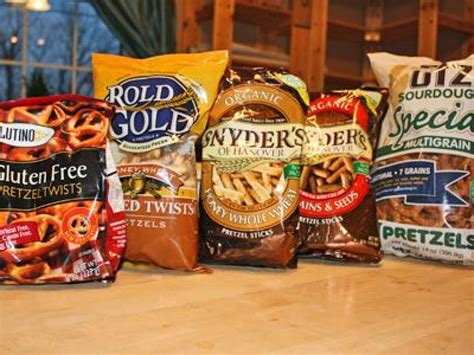 taste test  grain pretzels food network healthy