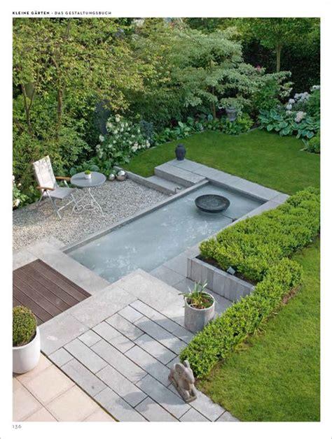 Große Ideen Für Kleine Gärten  Water Garden Pinterest