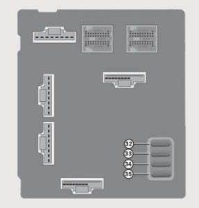 Smart Fortwo  2008   U2013 Fuse Box Diagram