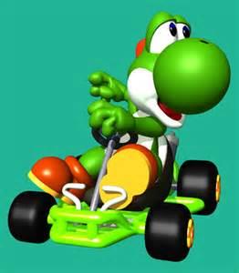 Mario Kart 64 Yoshi