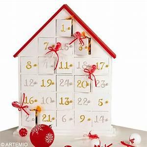 Calendrier De L Avent Maison : bricolage calendrier de l 39 avent rouge et blanc id es et conseils calendrier de l 39 avent ~ Preciouscoupons.com Idées de Décoration