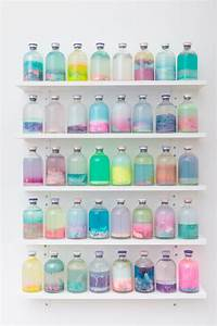 Louise zhangs abstract vials filled with playfully for Abstract neon vials louise zhang