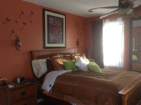 Burnt Orange Bedroom Ideas by 1000 Ideas About Burnt Orange Bedroom On