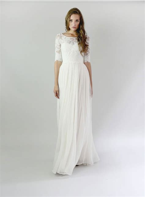 Modest Wedding Dresses For Modern Brides  Smashing The. Elegant Satin Wedding Dresses. Beach Wedding Bridesmaid Dresses Ideas. Winter Wedding Dresses And Capes. Vera Wang Joelle Wedding Dress Price. Casual Beach Wedding Dresses Plus Size. Wedding Dresses Poofy Bling. Tea Length Wedding Dress Yes Or No. Wedding Dresses Rehoboth Beach De