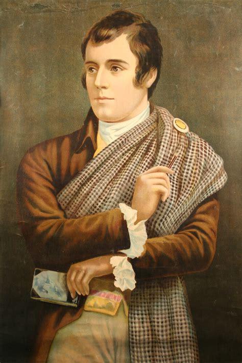 Robert Burns   Print of Robert Burns after Nasmyth. The ...
