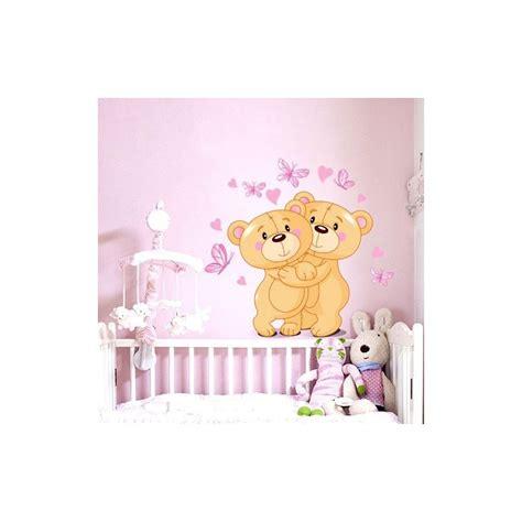 stickers chambre de bebe stickers ourson chambre bébé livraison en 48h