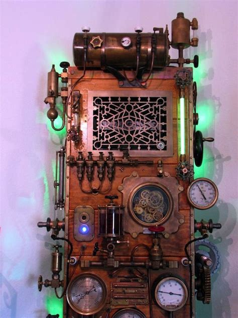 awesome steampunk computer case mods