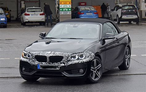 2019 Bmw 2 Series Convertible Spied Testing With Light