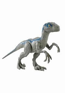 "Jurassic World 12"" Blue Velociraptor Action Figure  Velociraptor"