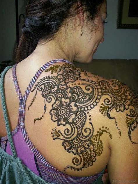 lovely henna tattoo  shoulder