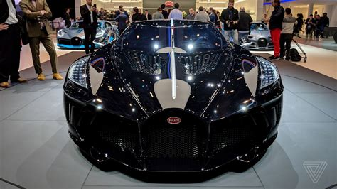 * at $18.9 million, it's the most expensive new car ever sold, bugatti said. Bugatti's La Voiture Noire is a $19 million ode to the grotesquely rich - The Verge