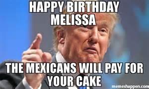 Meme Happy Birthday Melissa Cake