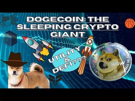 Dogecoin Utility / Dogecoin Whale Why Robinhood May Be The ...