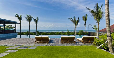 Sunloungers By The Pool, Canggu