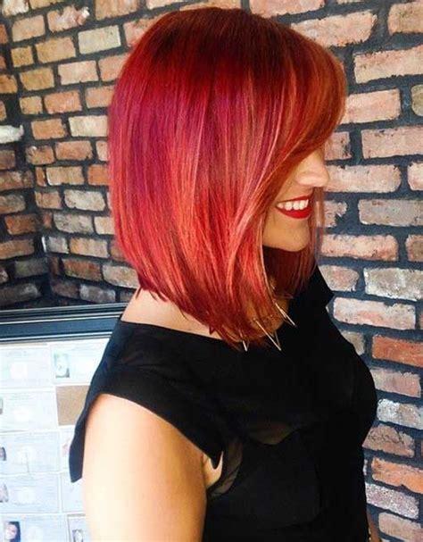 red bob haircuts short hairstyles